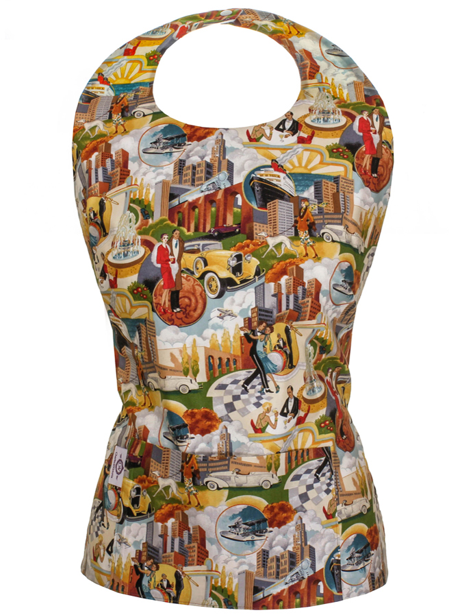Gatsby Dining Apron Top